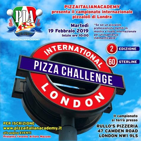 pizza challenge in london